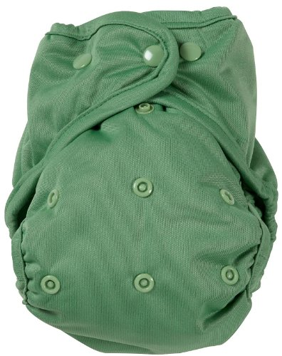 Kissa'S One Size Diaper Cover, Grassy Green front-40465
