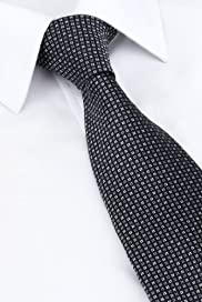 Ultimate Pure Silk Textured Check Woven Tie [T12-7749-S]