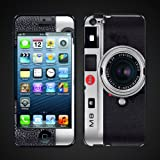 Iphone 5 Skin Cover kit, Lieica M8 Camera silver Ip5cam2
