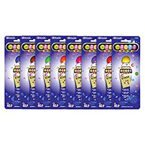 BAZIC Assorted Color 45 Millimeter Bingo Marker, colors vary