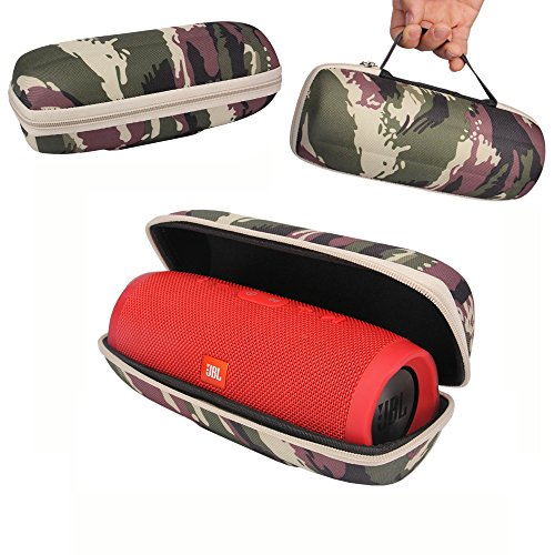 Click to buy PU Hard Case Travel Carrying Storage Bag Cover for JBL Charge 3 Waterproof Portable Wireless Bluetooth Speaker (Camouflage) - From only $12.99