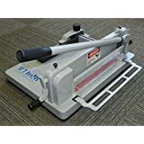 (TRADEMARKED) STACK S12 Professional Guillotine DeskTop Paper Cutter