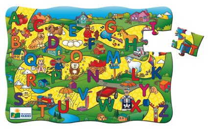 Cheap Fun LEARNING JOURNEY ALPHABET ROAD PUZZLE (B000NNNXLM)