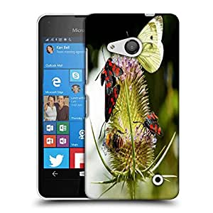 Snoogg Multiple Flyies Designer Protective Phone Back Case Cover For Nokia Lumia 550