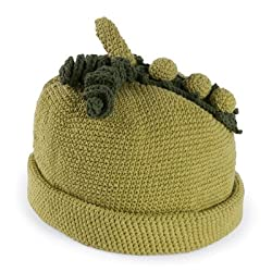 San Diego Hat Company Kid's Pea Pod Cap Large (6-12 Months) Green