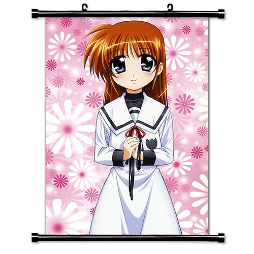 "Mahou Shoujo Lyrical Nanoha Anime Fabric Wall Scroll Poster (32"" X 46"") Inches"