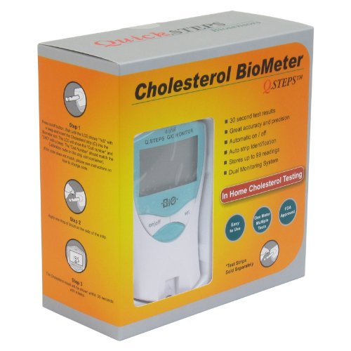 Q. Steps Cholesterol Biometer Glucose Monitoring System