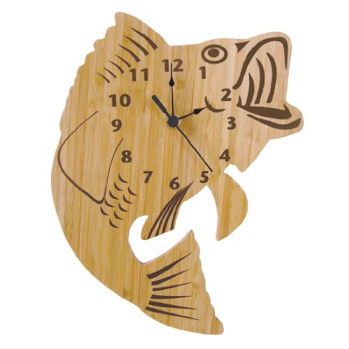 Trend Lab Trend Lab Bamboo Wall Clock, Fish