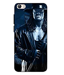 Vivo Y55 SmartPhone Undertaker Printed Blue Soft Back Cover By Case Cover