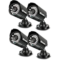 Swann PRO-640 Multi-Purpose Day/Night Outdoor Color Camera (4 Pack)