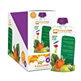 Happy Tot Organic Baby Food, Stage 4, Spinach, Mango and Pear, 4.0-Ounce Pouches (Pack of 16)