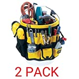 CLC Custom Leathercraft 4122 In & Out Bucket (61 Pocket, 2-Pack) (Tamaño: 61 Pocket, 2-Pack)