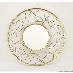 Deco 79 42158 Metal Wall Mirror, 48\