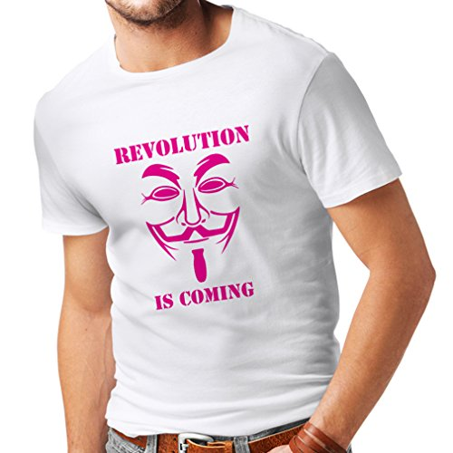 n4249-mens-t-shirt-revolution-is-coming-anonymous-medium-white-magenta