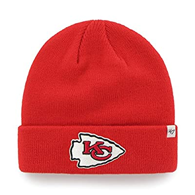 Men's '47 Brand Kansas City Chiefs Cuffed Knit Hat One Size Fits All