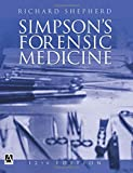 img - for Simpson's Forensic Medicine, 12Ed book / textbook / text book