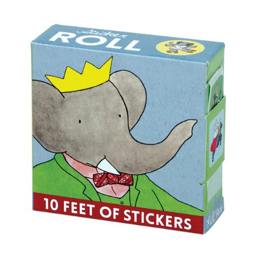 Mudpuppy Babar Sticker Roll - 1