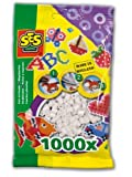 SES Creative Children's Iron on Beads (White, Pack of 1000)