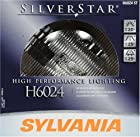 Sylvania H6024 ST SilverStar High Performance Round Halogen Headlight Bulb (Low/High Beam), (Pack of 1)