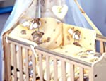 5 PCS BABY BEDDING SET TO FIT COT & C...