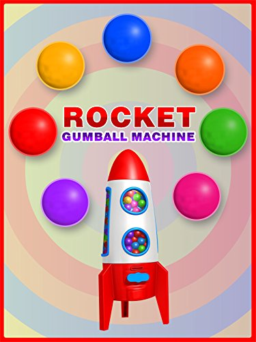 Colors for Toddlers to Learn with Rocket Gumball Candy