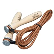 Buy Lonsdale Leather Rope with Wooden Handles Review-image