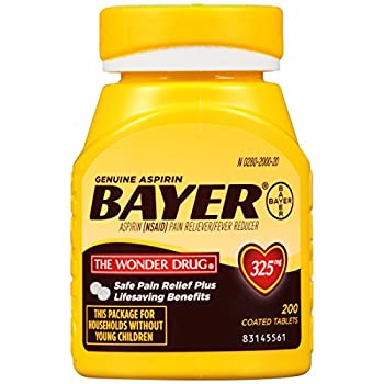 Aspirin dose 80 mg, 325 mg, for heart health - Ray Sahelian