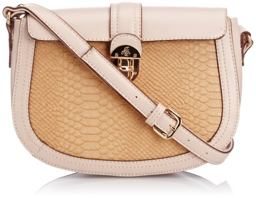 Jane Shilton Womens Cross-Body Bag 1342 Beige