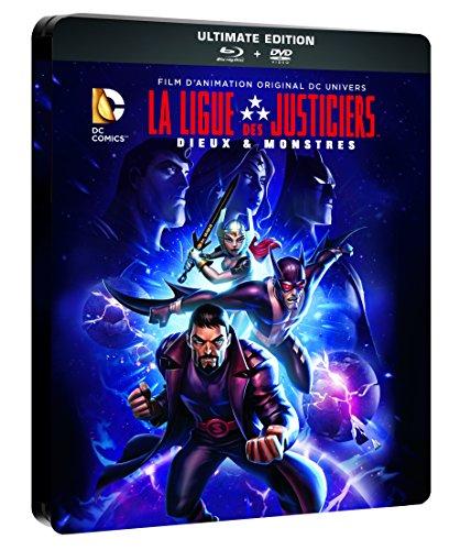 Les Aventures de la Ligue des justiciers - Dieux et monstres [Francia] [Blu-ray]