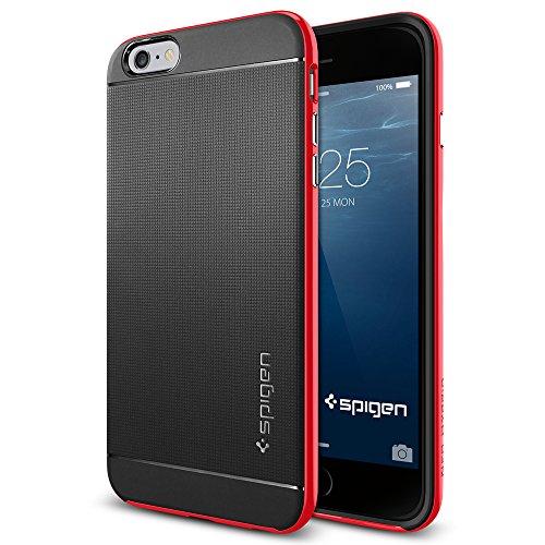 iPhone 6 Plus ケース, Spigen® [ 二重構造 スリム フィット ] ネオ・ハイブリッド Apple iPhone (5.5) アイフォン 6 プラス カバー (国内正規品) (ダンテ・レッド SGP11065)