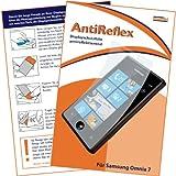 """mumbi Displayschutzfolie Samsung Omnia 7 Displayschutz """"AntiReflex"""" antireflektierend"""