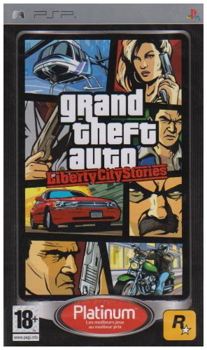 GTA : Liberty City stories – platinum