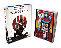 The Wolverine - Limited Edition with Comic Book (Amazon.co.uk Exclusive) [Blu-ray + UV Copy]