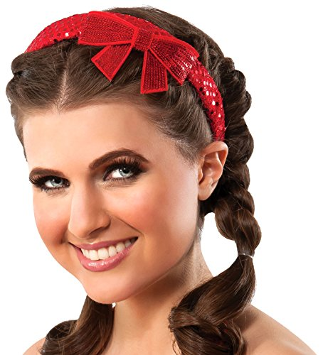 Rubie's Costume Co Women's Wizard of OZ Dorothy Sequin Bow Headband