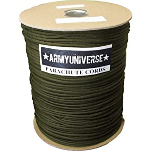 550LB Military 7 Strand Nylon Paracord Rope Spool - 1000 Feet