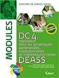 echange, troc Yvette Molina - Modules DC4 DEASS : Implication dans les dynamiques partenariales, institutionnelles et interinstitutionnelles, assistant de se