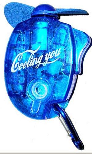 Hand Held Mini Spray Fan (Blue)