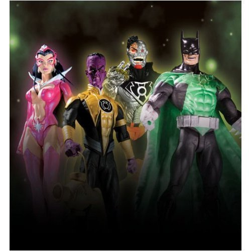 Buy Low Price DC Direct Green Lantern 3: Action Figures Master Case of 16 (4 Sets) (B000ZLX17I)