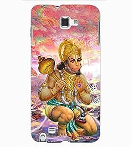 ColourCraft Lord Hanuman Design Back Case Cover for SAMSUNG GALAXY NOTE 1
