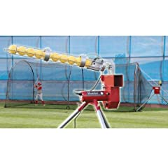 Trend Sports Heater Combo Pitching Machine And Xtender 24