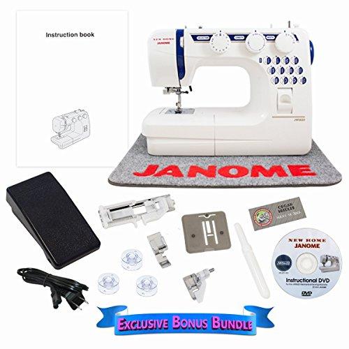 Janome JW5622 Refurbished Sewing Machine With Exclusive Bonus Bundle (Refurbished Janome compare prices)