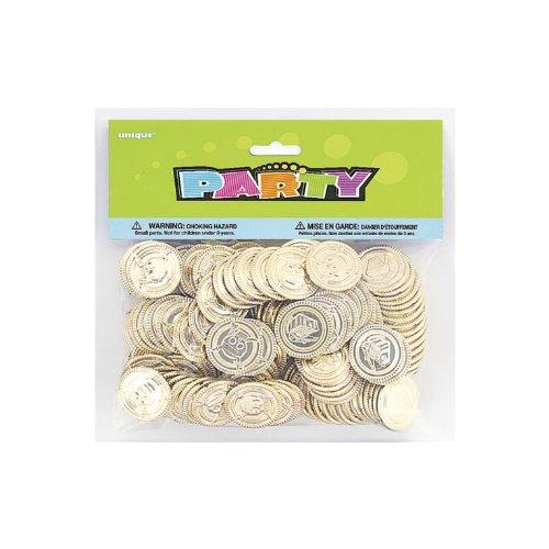 Pirate Treasure Gold coins (pk of 144) Pinata Party bag Filler