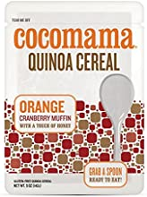 Cocomama Cranberry Orange Muffin Quinoa Cereal 3 pack