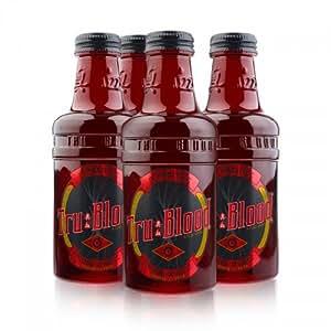 Tru Blood Blood Orange Carbonated Soda Drink 14 oz. (4 pack)