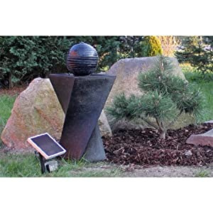 solar springbrunnen set nsp4 mit akku und led beleuchtung solarbrunnen garten. Black Bedroom Furniture Sets. Home Design Ideas