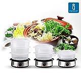 Aigostar fitfoofie BPA Free 30INA-Dampfgarer für Dampfgarer. BPA-frei. Mit Timer und Boden in Edelstahl. 800Watt. Markenqualität von Aigostar. -