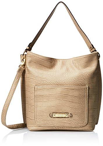 nicole-miller-new-york-on-the-edge-crossbody-damen-beige