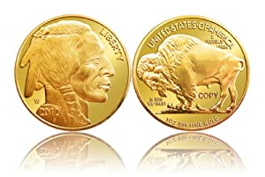 2012 $50 Buffalo Gold Coin Replica