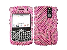 buy Star Pink Bling Rhinestone Faceplate Diamond Silver Baby Crystal Hard Skin Case Cover For Blackberry Curve 8300 8310 8320 8330