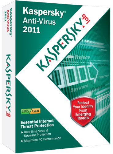 Kaspersky Anti-Virus 2011 3-User